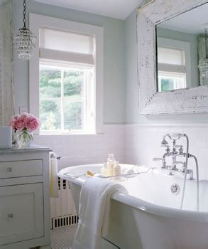 cottage style mirrors bathrooms whitewashed mirror cottage bathroom