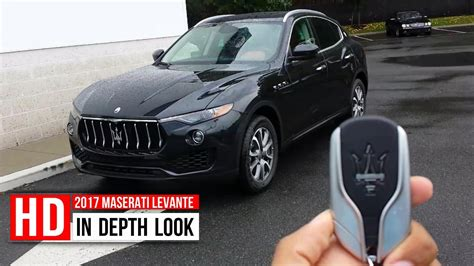 maserati truck interior 2017 maserati levante suv in depth walkaround startup