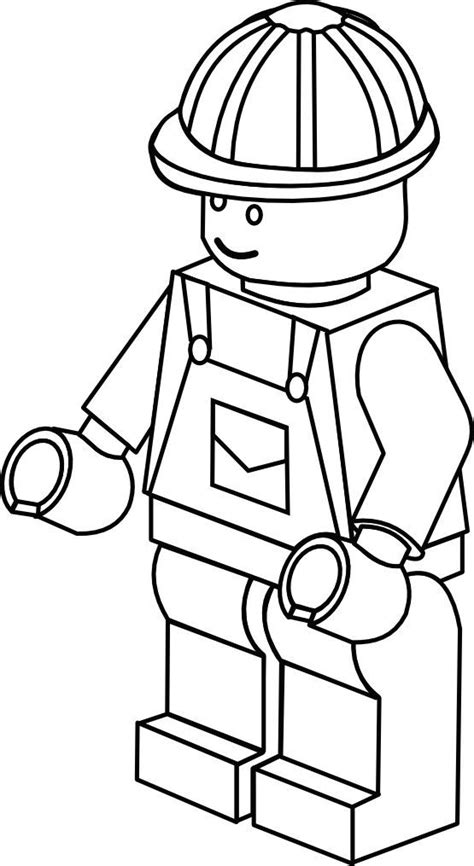 Lego Character Coloring Pages lego character coloring pages az coloring pages