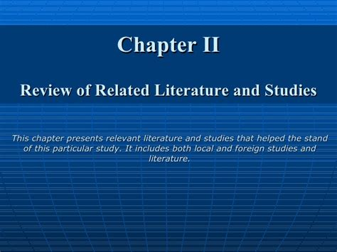 Review Of Related Literature And Studies Of Record Management System by Factors That Affect The On The Of