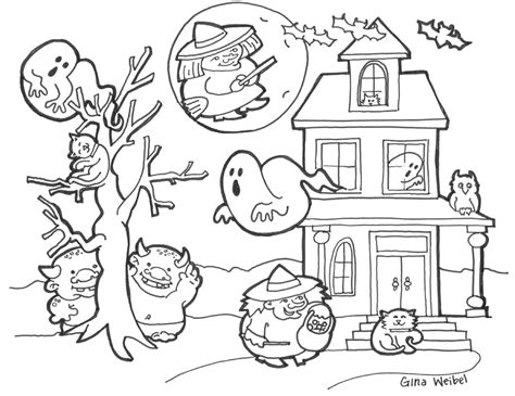 halloween coloring pages music let s play music with gina weibel october 2013