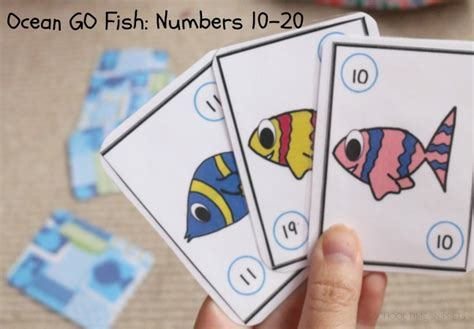 printable go fish card games printable go fish numbers card game for kids school time