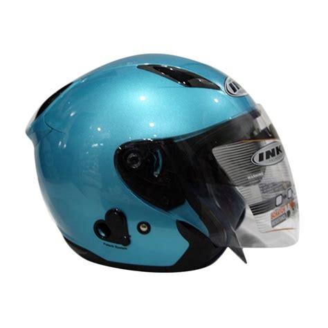 Ink Flash Solid 2 Visor jual ink metro 2 solid helm half blue harga kualitas terjamin blibli