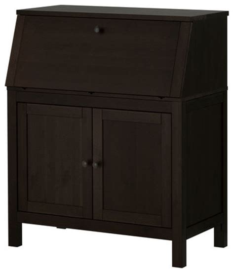Hemnes Secretary Modern Desks And Hutches By Ikea Hemnes Desk Review