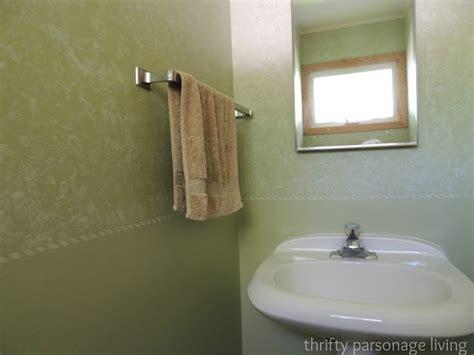 thrifty parsonage living diy bathroom makeover