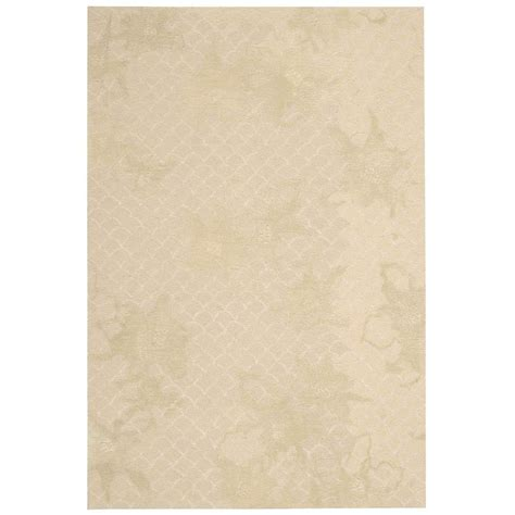 overstock rug nourison overstock escalade sand 8 ft x 10 ft 6 in area rug 263209 the home depot