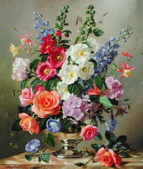 imagenes flores pintadas arte pinturas 211 leo im 225 genes de flores pintadas al 211 leo