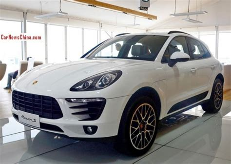 Porsche Macan China by Porsche Macan Hits The Auto Market Carnewschina
