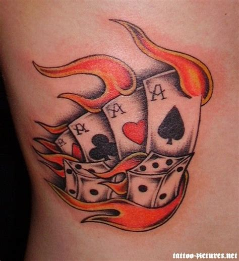 flaming rose tattoo best 25 ace ideas on ace card card