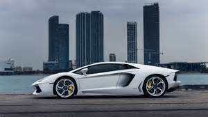 automobiles buildings cars city lamborghini aventador