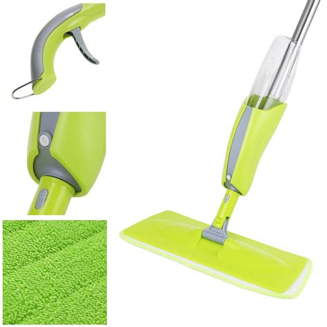 spray mop water spraying microfibre floor cleaner sweeper wiper 163 11 99 oypla stocking the