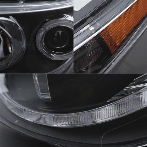 hyundai accent led headlights for 2012 2014 hyundai accent sedan hatchback led halo