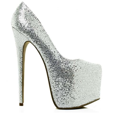 kyleigh stiletto heel concealed platform court shoes