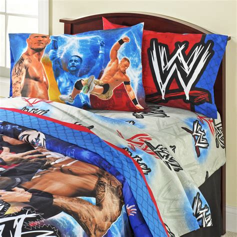 wwe comforter set wwe chion comforter home bed bath bedding