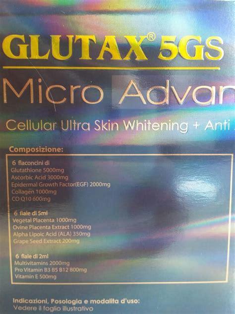 Glutax 5gs Micro Advance glutax 5gs micro advance 18pcs glutathione philippines