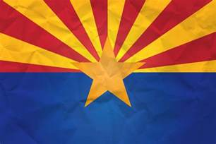 arizona state colors flag of arizona with paper texture it for free
