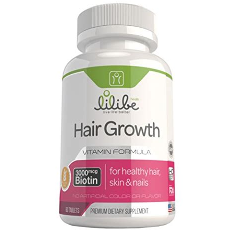 vitamins for hair growth for women over 50 hair skin nails vitamins for women with 3000mcg biotin