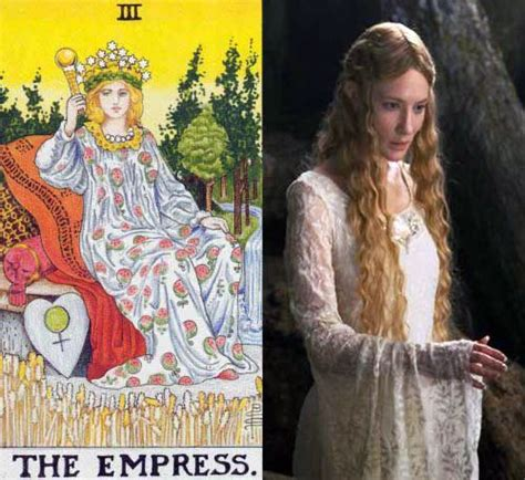 the empress a novel tarot the empress and avatars galadriel from lord