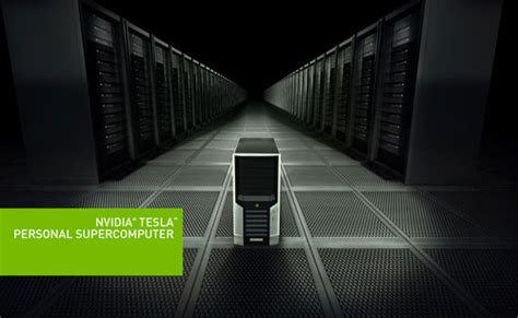 Tesla Supercomputer Nvidia Announces Cost Energy Saving Tesla Personal