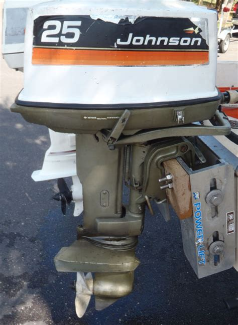 25 Hp Johnson Electric Start Outboard For Sale