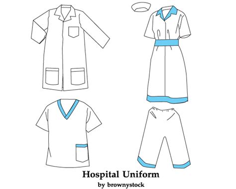 jersey design illustrator hospital uniform template free vector download free