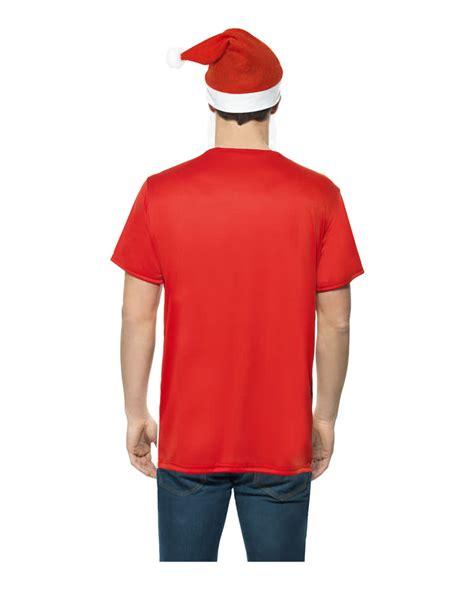 T Shirt Set santa claus t shirt set nikolaus shirt for horror