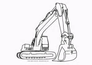 construction equipment coloring pages coloring home