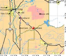 wheatland california ca 95692 profile population maps
