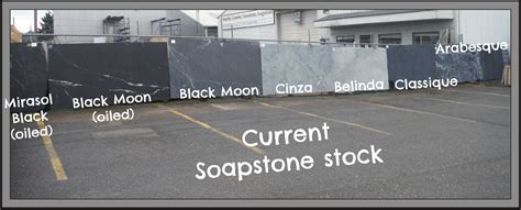 Where Does Soapstone Come From All Kinds Of Different Choices In Colors And Patterns