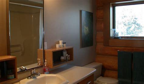 log home bathroom koshersamurai bc log home for sale on acreage with private lake