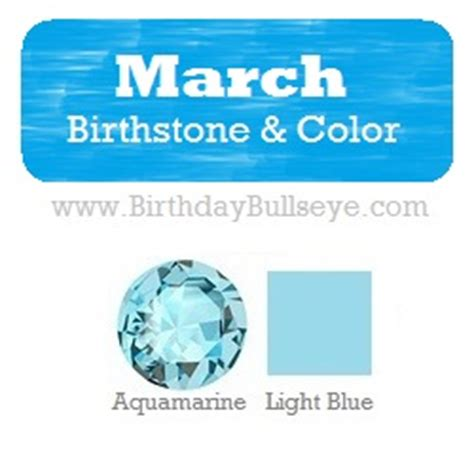 march color of march birthstones and flowers lucky charms and health
