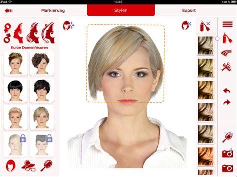 Friseur Software Kostenlos Frisuren Testen App Trendige Kurzhaarfrisuren