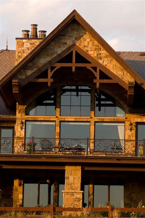 Luxury House Plans For a Swiss Chalet Style Mountain Home