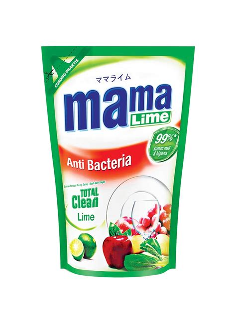 Sleek Cuci Botol Refill 900 Ml lime cairan pencuci piring refill pch 800ml
