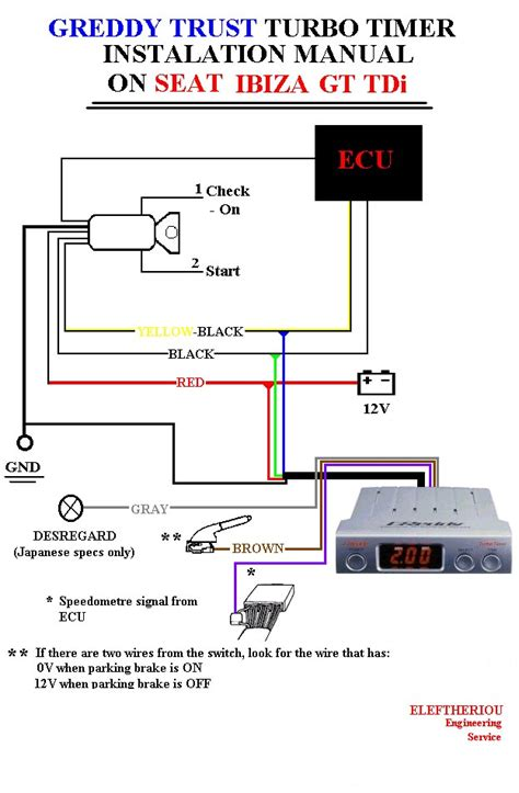 turbo timer wiring diagram globalpay co id
