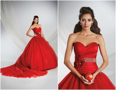 2015 Disney Fairytale Weddings by Alfred Angelo Wedding Dresses   The SnapKnot Blog
