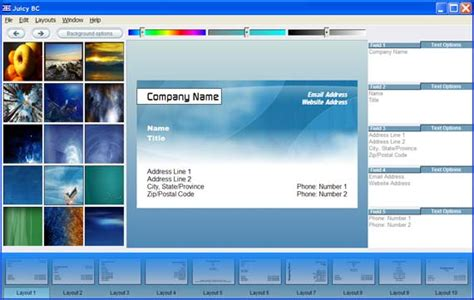 free software for card business cards