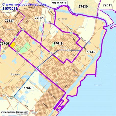 texas city zip code map zip code map of 77642 demographic profile residential housing information etc