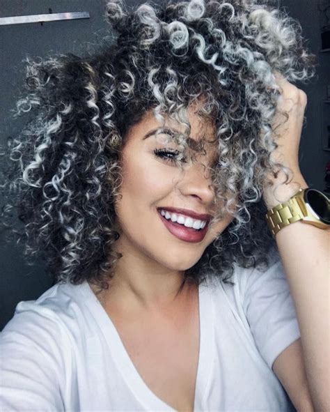 best 25 curly gray hair ideas on pinterest why grey photos is curly hair beautiful women black hairstyle pics
