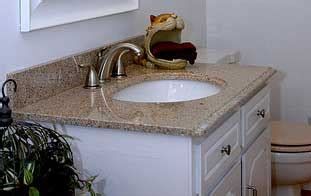 Bathroom Granite Countertops Ideas by Granite Bathroom Countertops