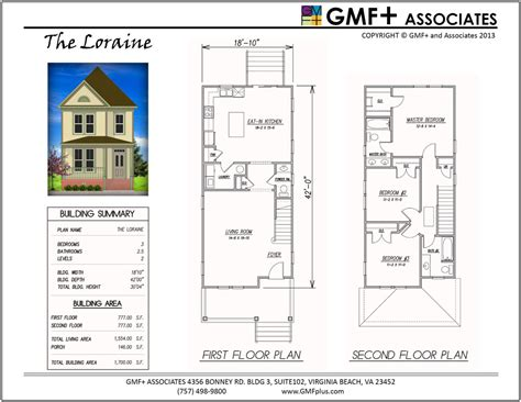 25 wide house plans gmfplus architects redevelopment urban plans library the loraine victorian house