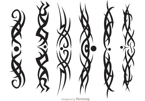Hawaiian Tribal Vectors Pack Download Free Vector Art Tribal Graphics Vector