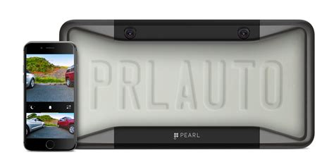 pearl automation s license plate cover puts a car backup on your phone techcrunch