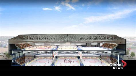 rexall place floor plan cost of transforming rexall place into two level ice