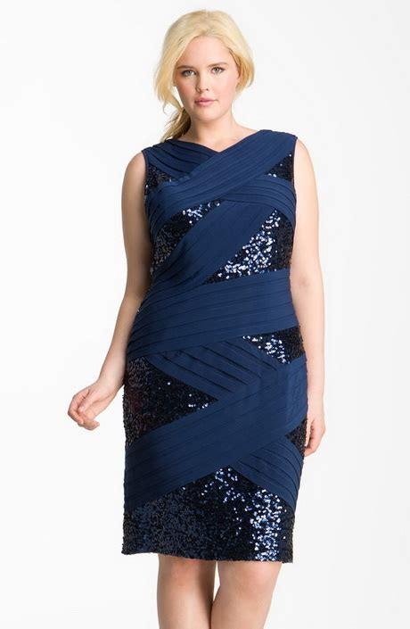 I Big Size Navy navy blue plus size dresses
