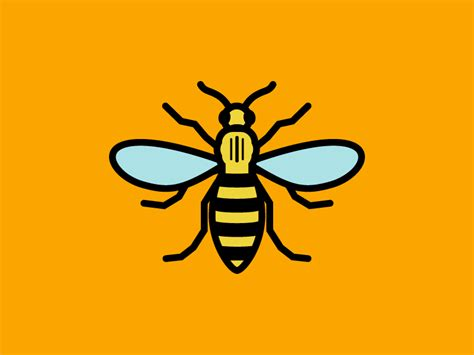 manchester worker bee by tj cosgrove dribbble
