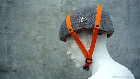 helmet design presentation cork bicycle helmet concept for lacoste on behance