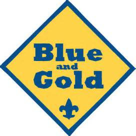 cub scout blue and gold banquet program template party