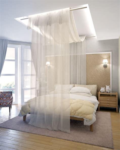 einrichtungstipps schlafzimmer himmelbett vorhang 55 tolle und inspirierende himmelbett