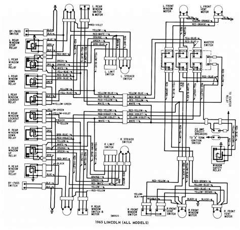 1965 ford thunderbird wiring diagram free wiring